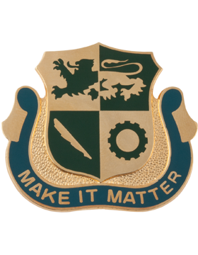 No Shine Insignia 1st Armored Division Special Troops Battalion Unit Crest (Make It Matter)