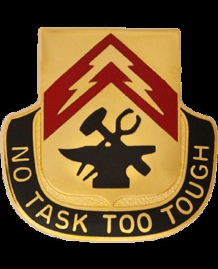 215th Support Battalion Unit Crest (No Task Too Tough)