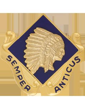 Military 45th Infantry Brigade (Right) Unit Crest (Semper Anticus)