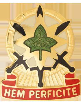 Military 4th Sustainment Brigade Unit Crest (Hem Perficite)