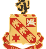 Military 11th Field Artillery Unit Crest (On Time)