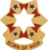 Military 6th Army Unit Crest (Born of War)