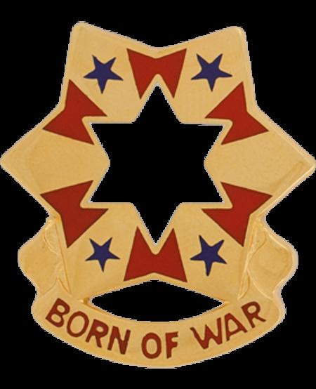 6th Army Unit Crest (Born of War)