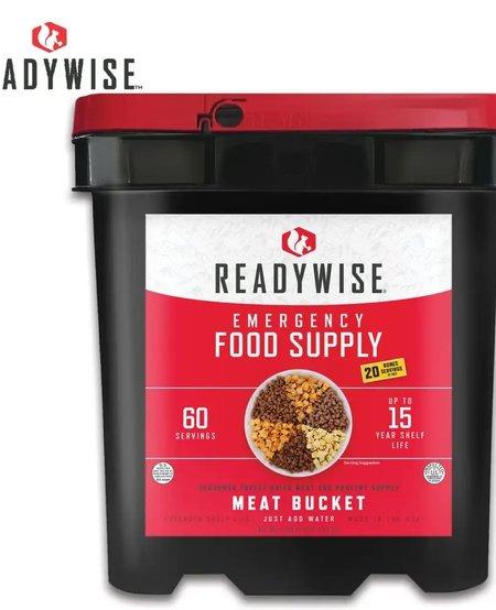 Gourmet Freeze Dried Meat Kit - 60 Servings