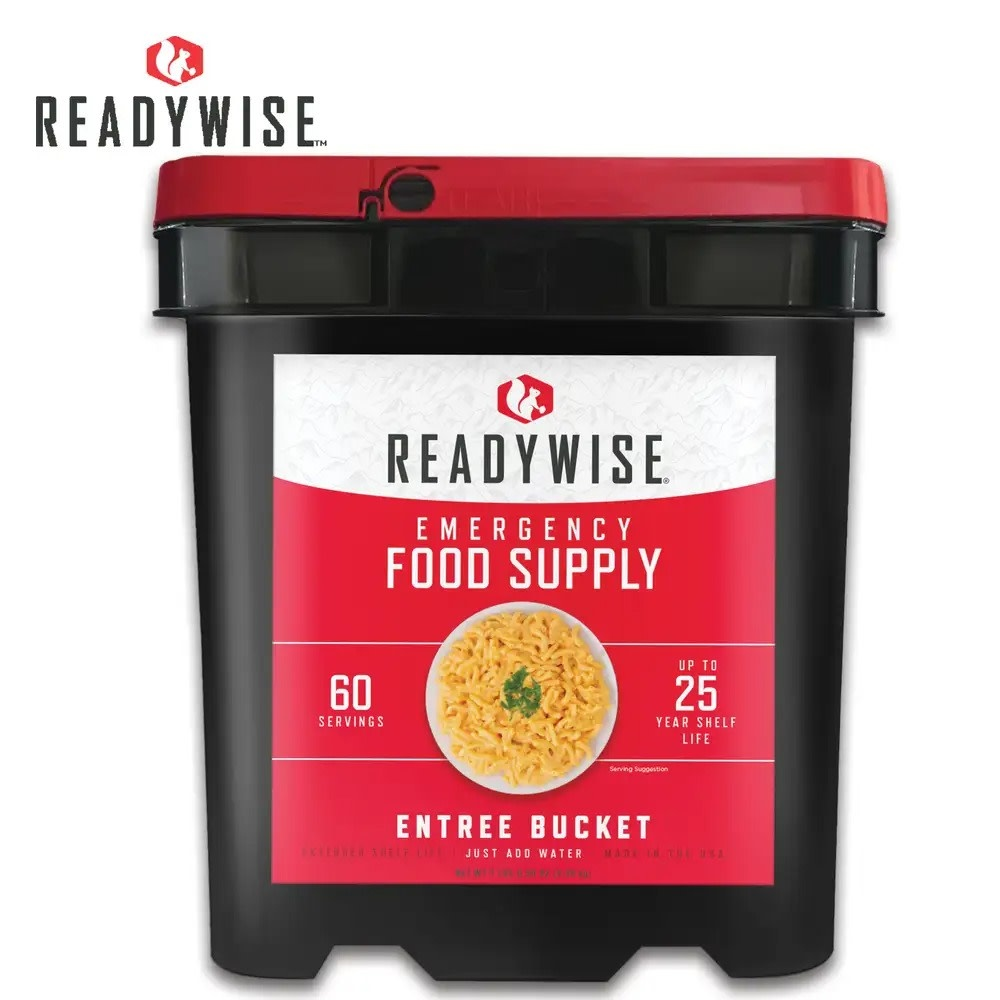 Readywise Grab and Go Gourmet Food Kit - 60 Servings