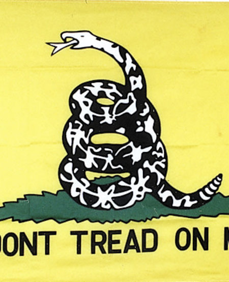 Don't Tread on Me 2 Sided Embroidered 3 x 5 Flag