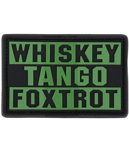 Whiskey Tango Foxtrot PVC Patch