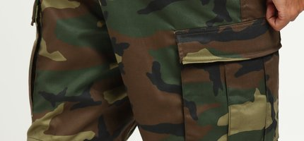 Woodland Camo Cargo Shorts and How It Became a Fashion Staple