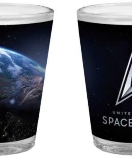 United States Space Force Sublimation 2oz Shot Glass