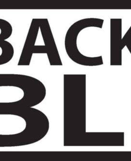 Back the Blue Bumper Sticker