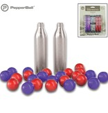 PepperBall PepperBall TCP Round Projectile Refill Kit - Live SD Rounds, Inert Rounds, CO2 Cartridges