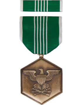 Military Army Commendation Medal with Ribbon Box Set