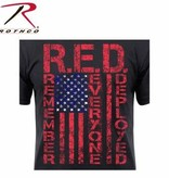 Rothco R.E.D. (Remember Everyone Deployed) Athletic Fit T-Shirt