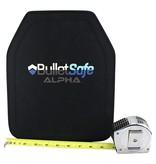 BulletSafe Alpha Ballistic Plate - Level III - Only 3.3 LBs