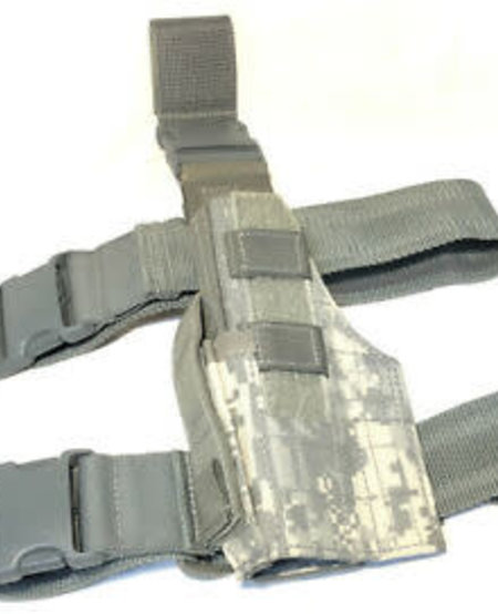 Government Issued Drop Leg ACU Universal HOlster - Used