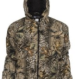 World Famous Sports Medium Burly Tan Camo Insulated Hooded Jacket