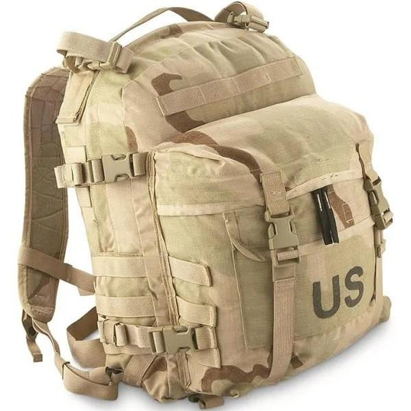 GI Desert Camo Assault Pack - USED
