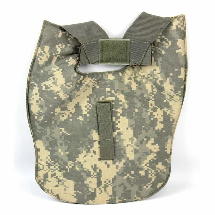 Military ACU Axillary Protector Outershell w/Insert - ISSUED - USED