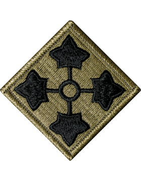 Military 4th Infantry Division Patch