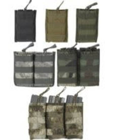 M4/M16 Open Top Mag Pouch with Bungee System