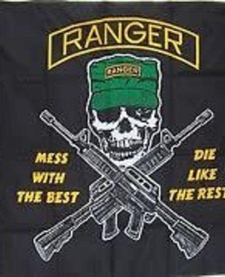 Army Ranger 3 x 5 State Flag