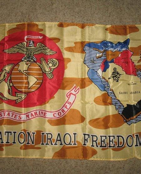 Operation Iraqi Freedom (2003) 3 x 5 Flag