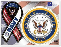 Navy Combo Magnet