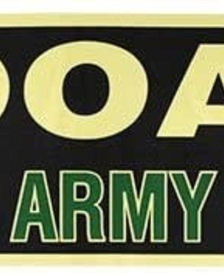 HOOAH! It's an Army Thing Bumper Sticker