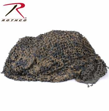 Rothco Large Ultra-lite Digital Woodland Net