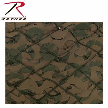 Rothco Military Type Camo Net