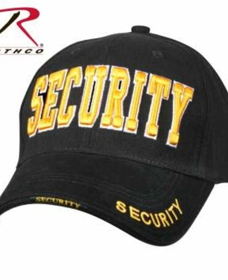 Security Deluxe Low Profile Cap - Gold Writing