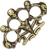 Gothic Brass Knuckle Paperweights