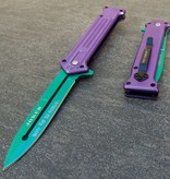 Assisted Opening Stiletto Pocket Knife