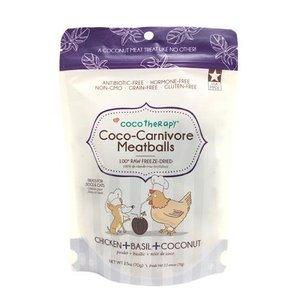 CocoTherapy Coco-Carnivore Meatballs – Chicken + Basil + Coconut