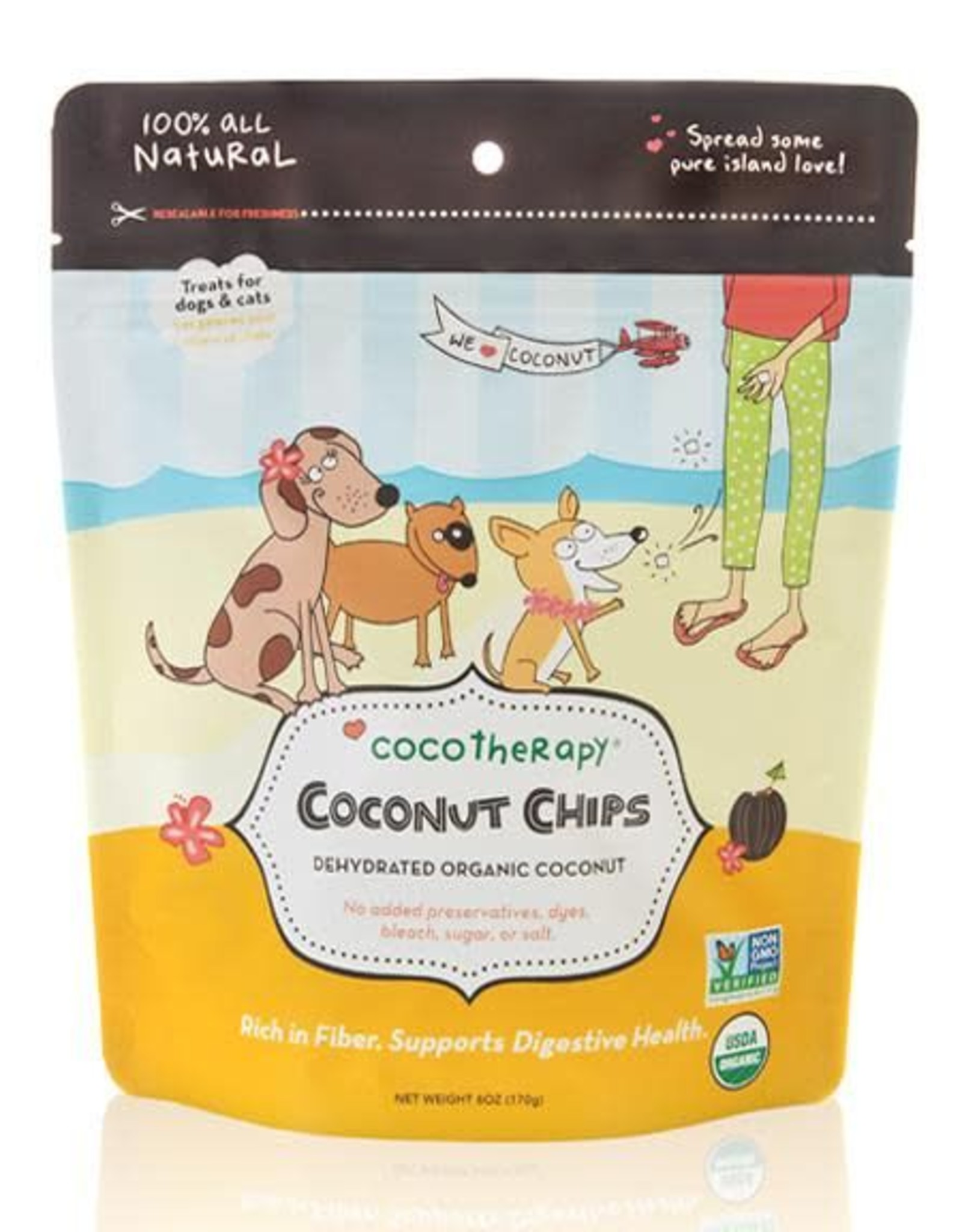 CocoTherapy Coco Therapy Coconut Chips 6 oz.