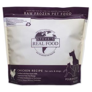 Steve's Real Food Steve's Dog & Cat Food Frozen Chicken Nuggets