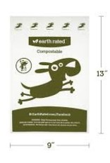 Earthrated Earth Rated® Vegetable-Based 60 Bags (4 Rolls) Unscented