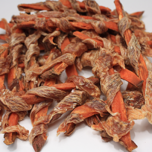 Preen Preen Chicken & Sweet Potato Twists Dog Treats 4 oz.