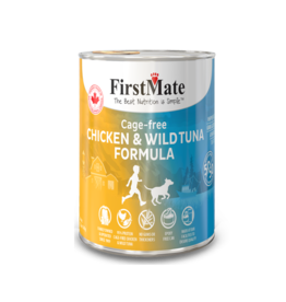 FirstMate FirstMate  Cage Free Chicken & Wild Tuna 50/50 for Dogs