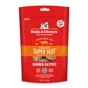 Stella & Chewy's Stella & Chewy Super Beef Freeze-Dried Dinner Patties