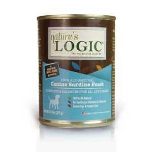 Nature's Logic Nature's Logic Dog Can GF Sardine Feast 13.2 oz 12/Case