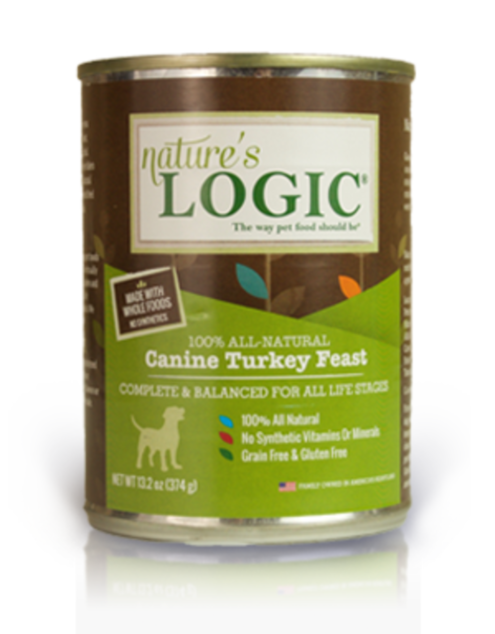 Nature's Logic Nature's Logic Dog Can GF Turkey Feast 13.2 oz 12/Case
