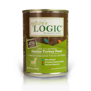 Nature's Logic Nature's Logic Dog Can GF Turkey Feast 13.2 oz 12/Case
