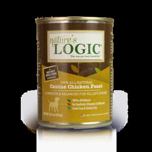 Nature's Logic Nature's Logic Dog Can GF Chicken Feast 13.2 oz 12/Case