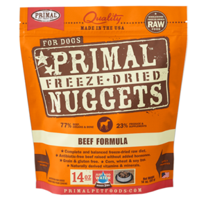 Primal Primal Beef Formula Nuggets Freeze-Dried Dog Food