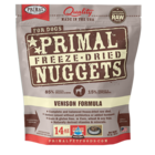 Primal Primal Venison Formula Nuggets Freeze-Dried Dog Food