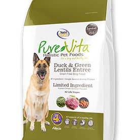 Pure Vita Pure Vita Dog Dry GF Duck & Green Lentil