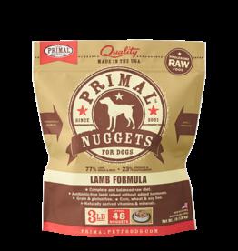Primal Primal frozen canine nuggetts lamb 4 lb.