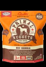 Primal Primal Dog Frozen Nuggets Beef