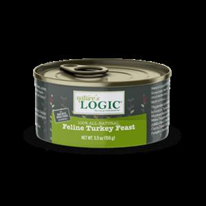 Nature's Logic Nature Logic Cat Turkey Feast 24/case 5 oz.